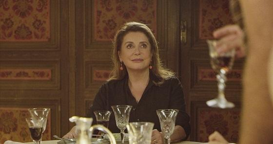 映画 『fete de famille』カトリーヌ・ドヌーヴ