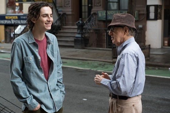 ウッディ・アレン 『A rainy day in New York』