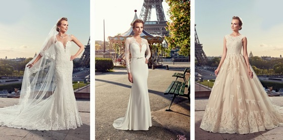 ウェディングドレス、フランス