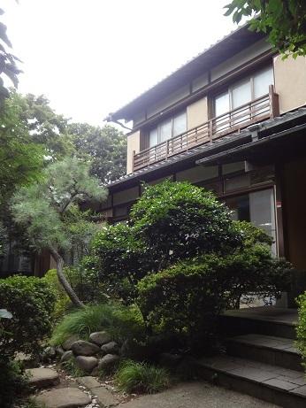 尾山台スタジオ庭