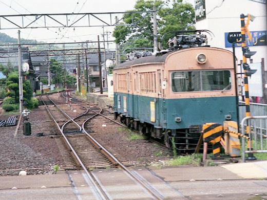 19970809北陸線・福井鉄道166-モハ161-1・モハ161-2-1