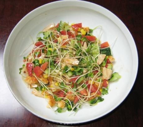 竹輪のサラダ