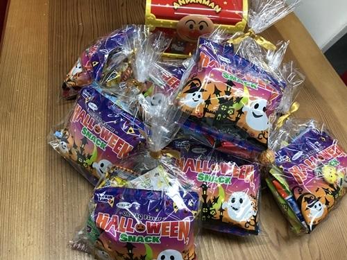 ハロウィン菓子2019