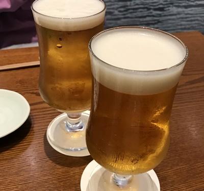 乾杯のビールミッドランド