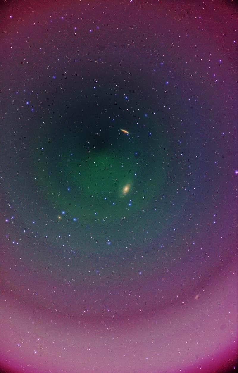 M81,M82 ほとんど前衛芸術と化した処理…
