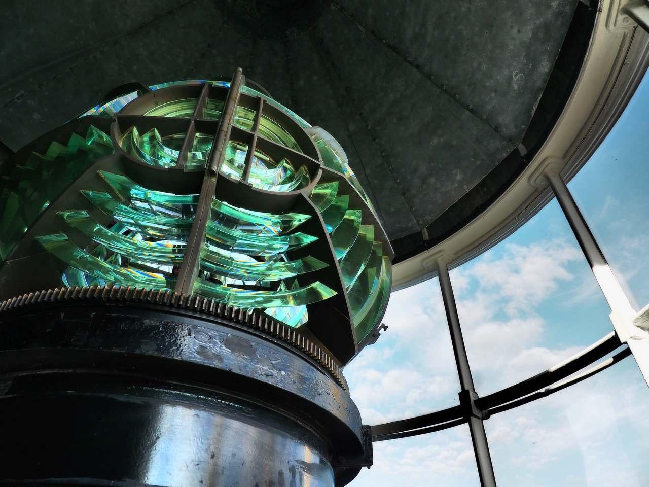 灯台ランプ室