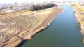 乙津川上流河道掘削外工事の完成報告です。