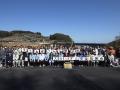 大分川ダム記念碑除幕式・タイムカプセル開封式に参加してきました。