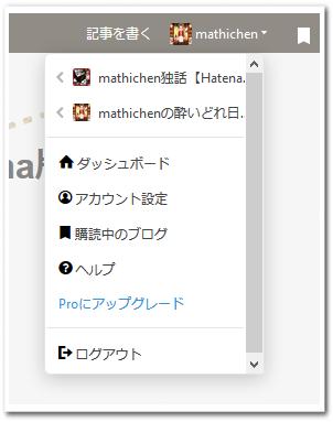 Hatena(ダッシュボード他)