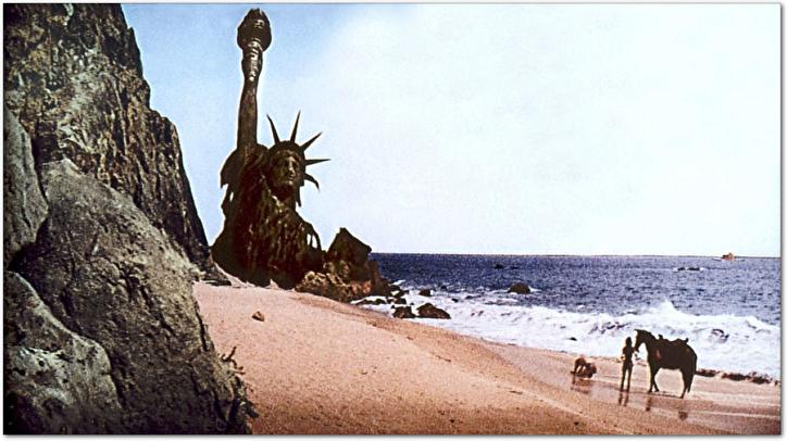 猿の惑星(自由の女神像)