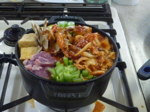 0125チゲ鍋