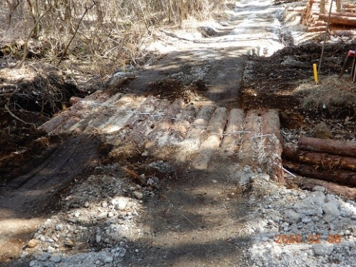道路の修復