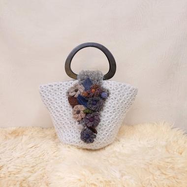 リフ編みバッグ2