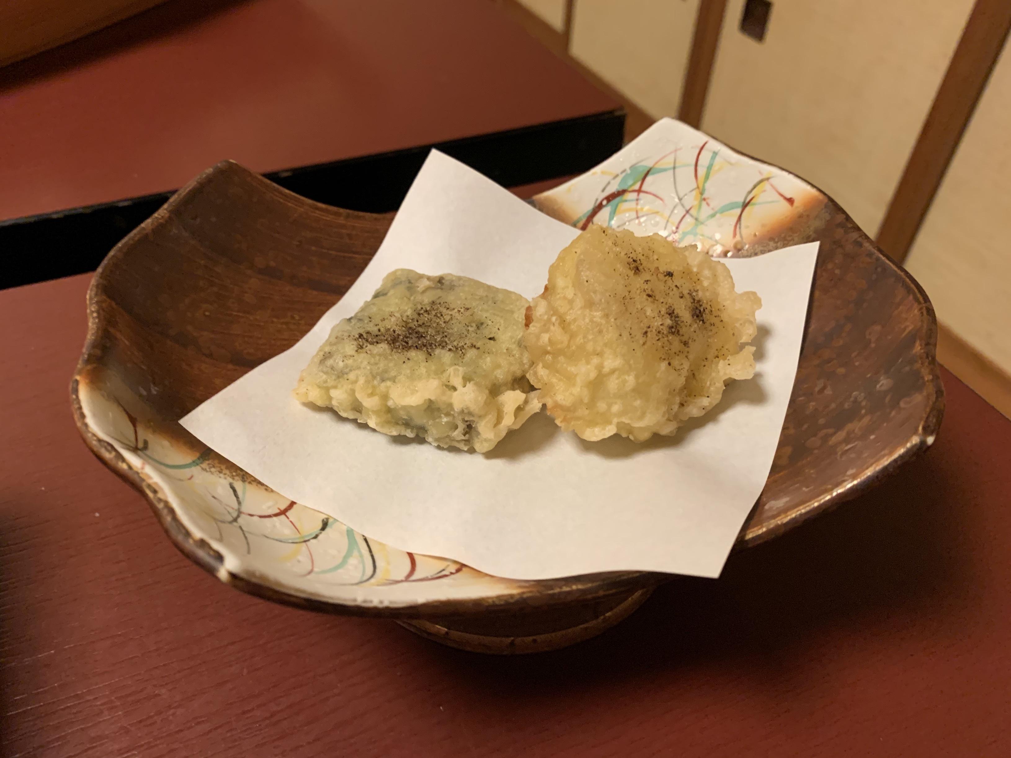 IMG_0035(二日目夕食・あんこう皮・身唐揚げ)