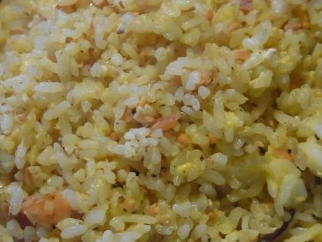 鮭卵炒飯 (2)