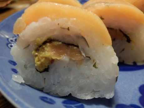 サーモン寿司 (2)