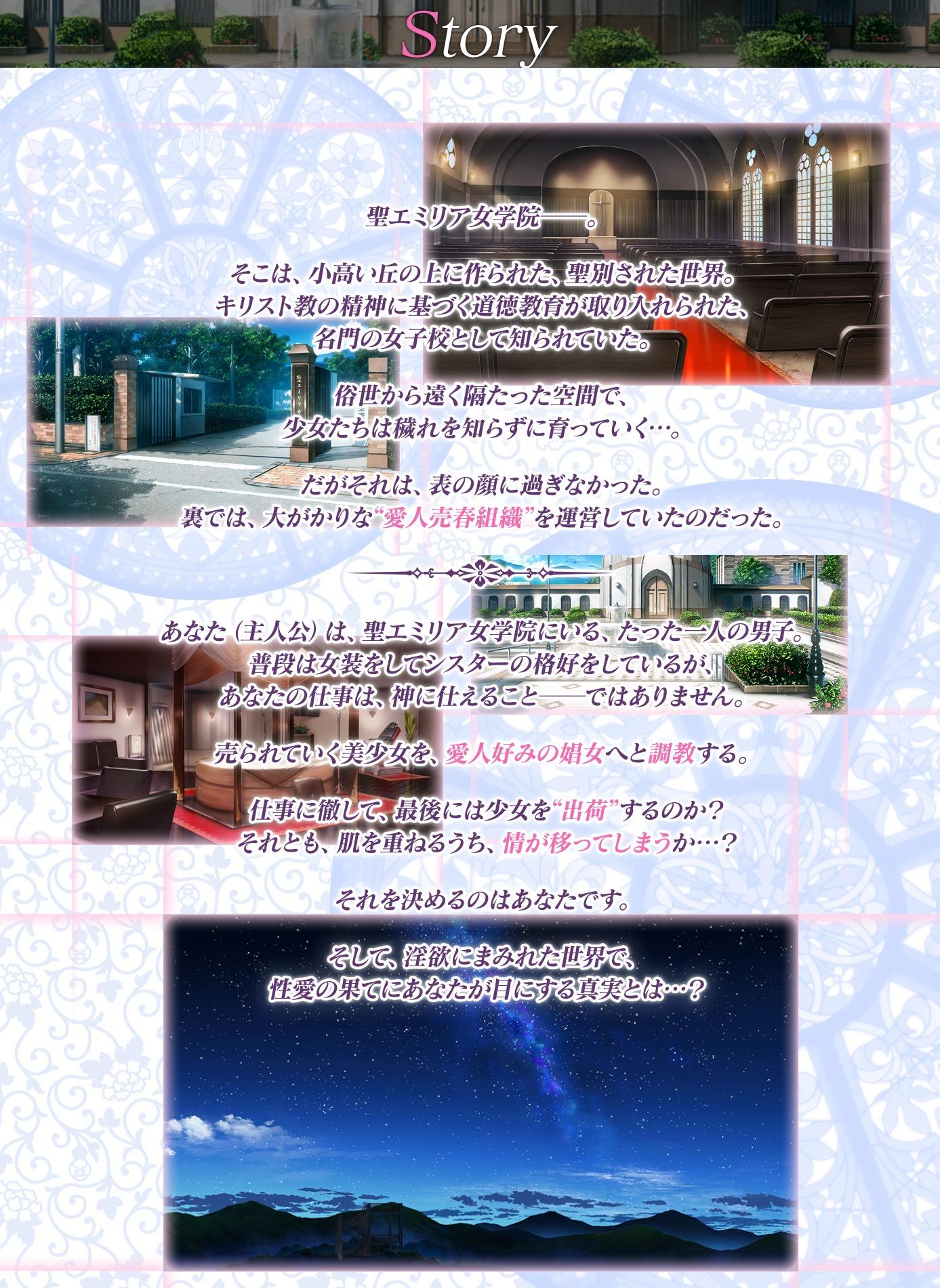 ストーリー|空の少女 -美娼女学園1-