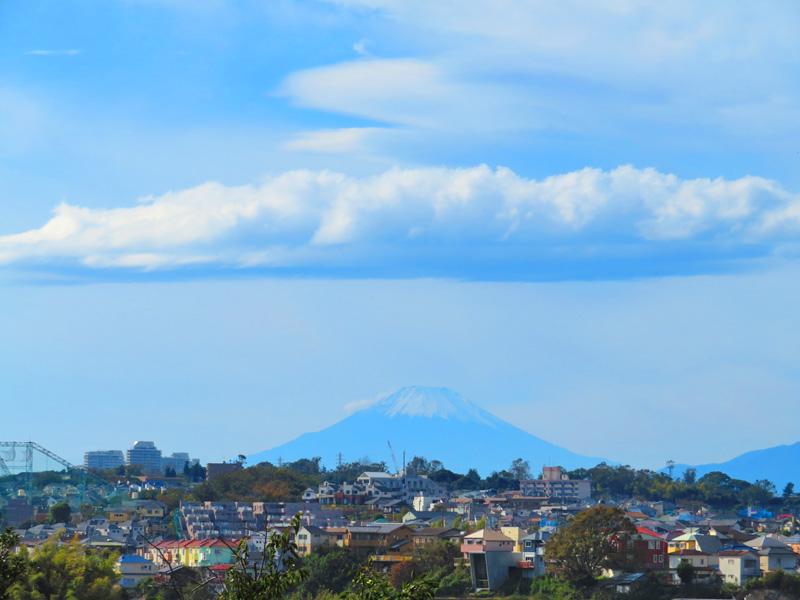 191107,昼休みの富士山1