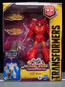 Transformers Bumblebee Cyberverse Adventures Deluxe Class Hot Rod (2)