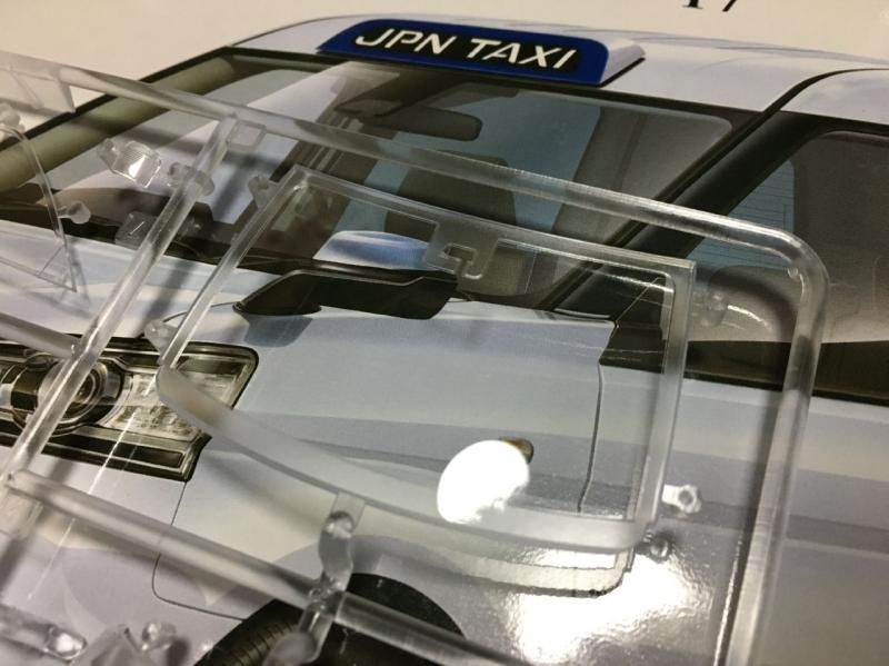 アオシマ JPNタクシー モデルカー