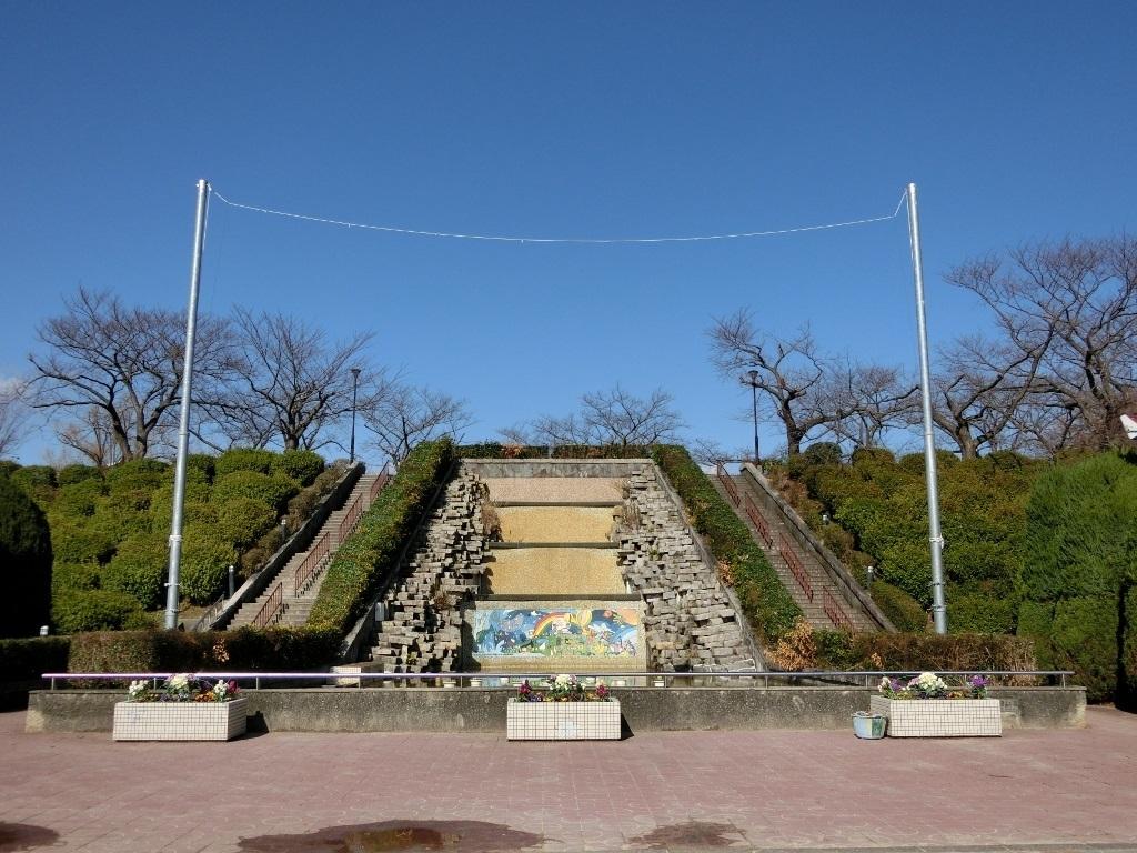 人工滝 (水月公園・大阪府池田市)