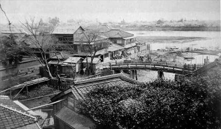 幕末の今戸橋の画像