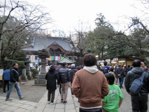 深大寺に初詣