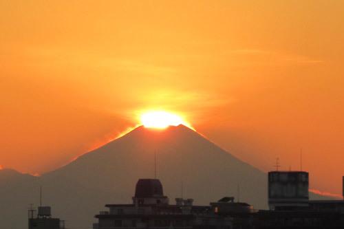 ダイアモンド富士