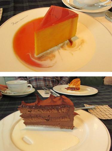 ペーパームーンのケーキ