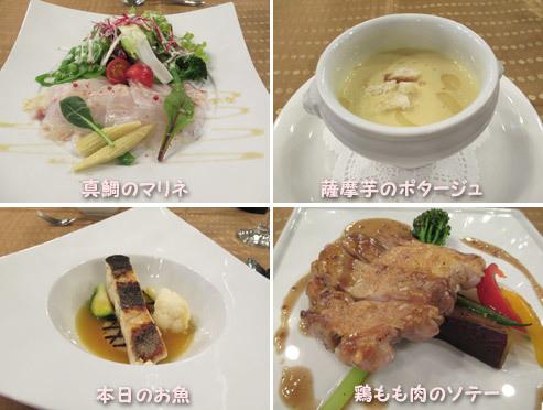 北軽井沢RIOのディナー
