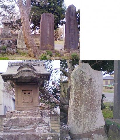 邑楽町中野、長良神社の桜201303(その7)