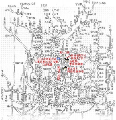 08関東近郊路線図(久喜以南縦)20181205s東川口駅他