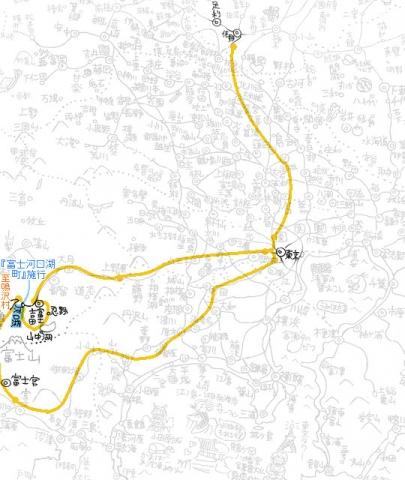 佐野市~富士宮市の地図s