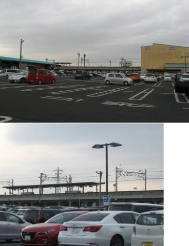 野州山辺駅(2018年4月、連結その1)