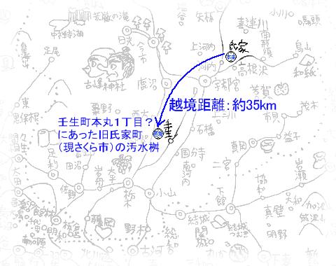 越境蓋(さくら市旧氏家と壬生町)