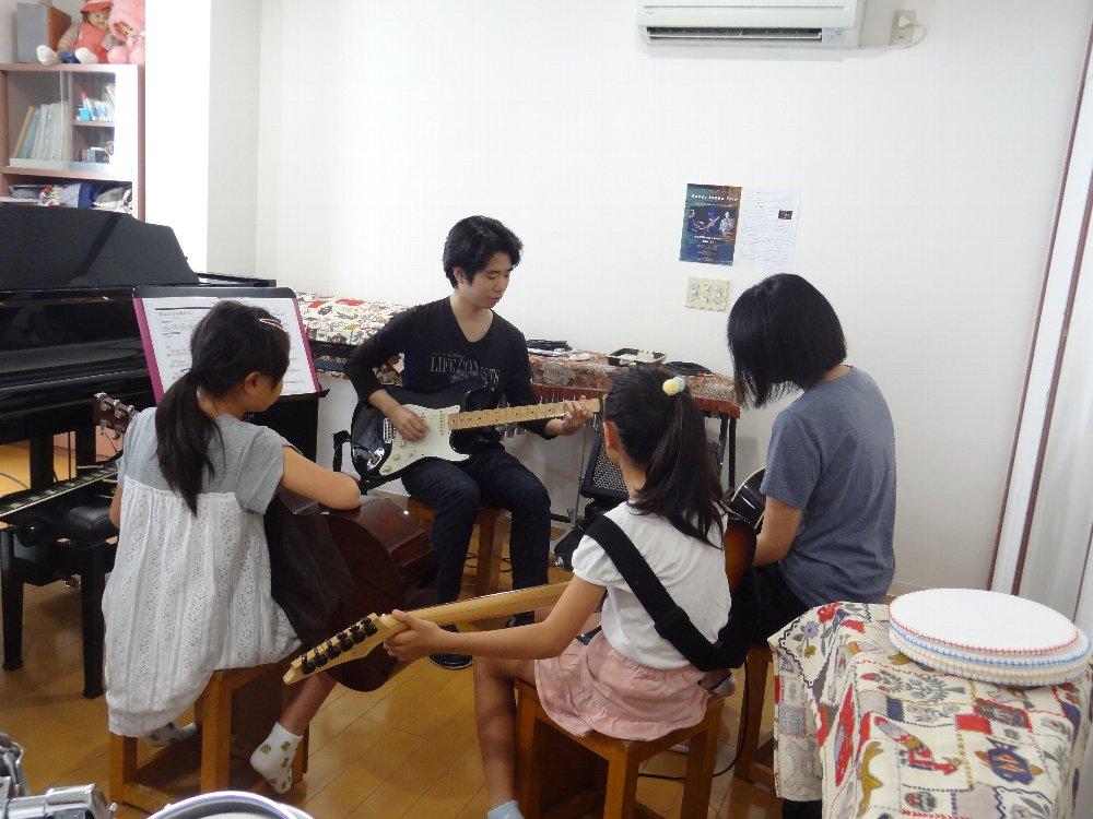 短期音楽教室 ファミリーレッスン
