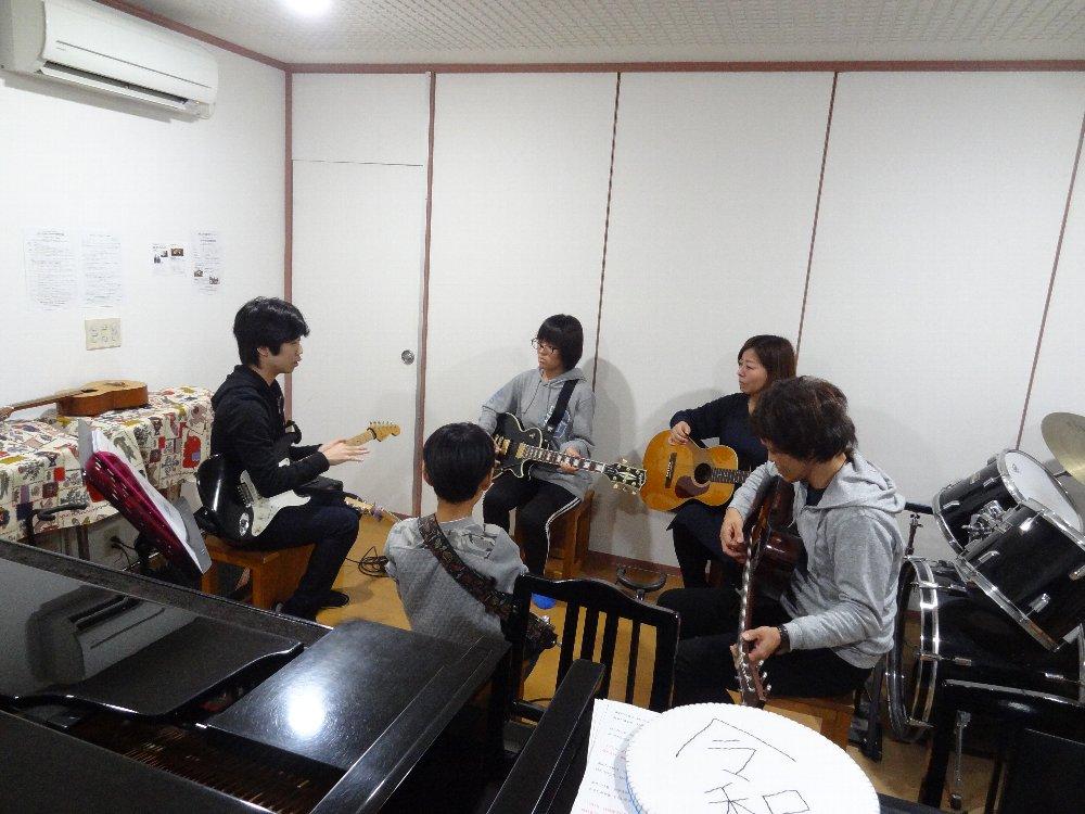 年末年始の短期音楽教室