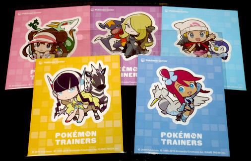 ポケモンセンター限定 Pokémon Trainersグッズ