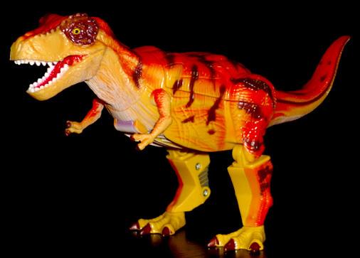 ザ・アクセス 古生代の大戦士 ディノバトロン ティラノサウルス