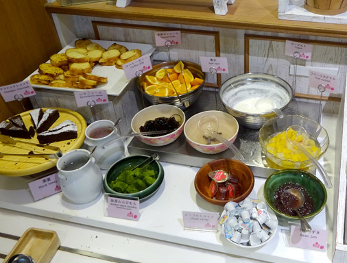ジョナサン 新小岩駅前店のモーニングビュッフェ