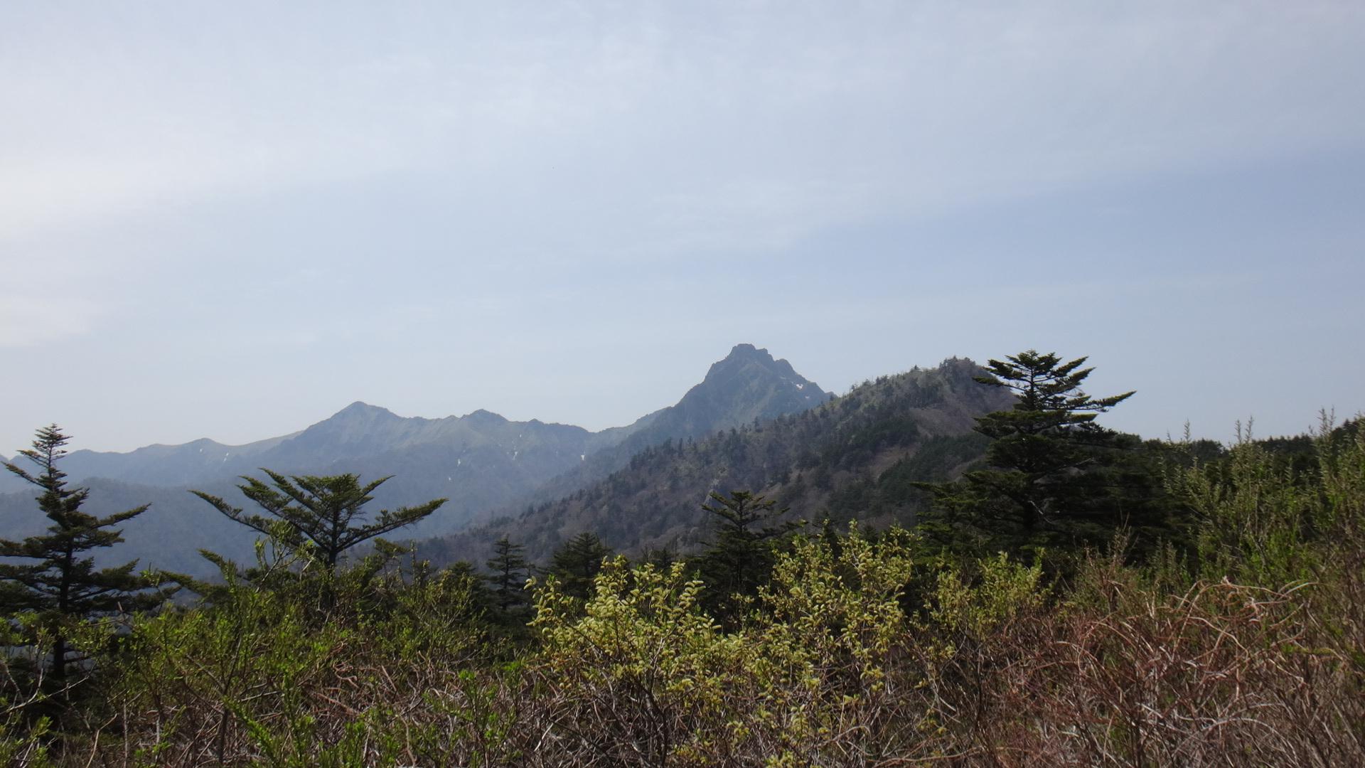 石鎚山スカイライン24石鎚山