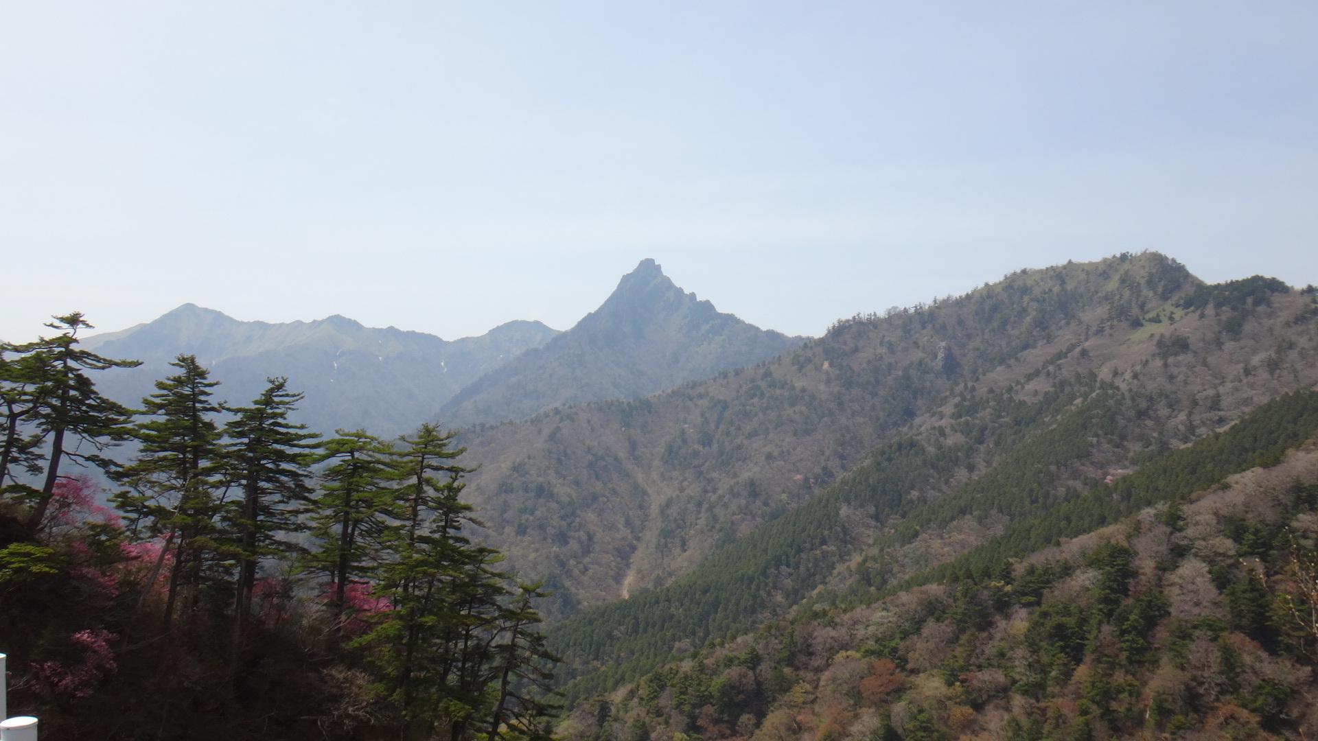 石鎚山スカイライン25石鎚山