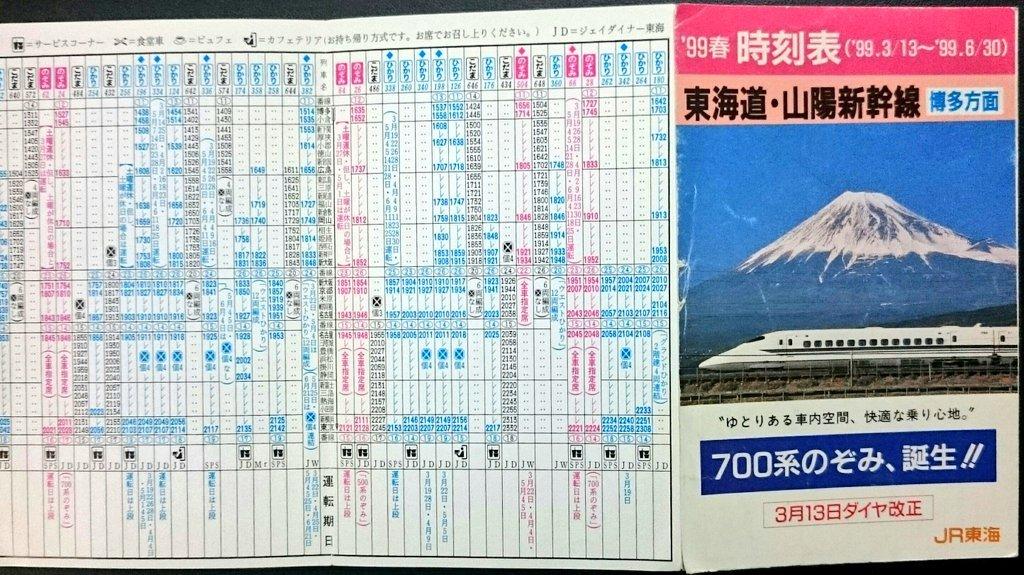 時刻 東海道 表 新幹線