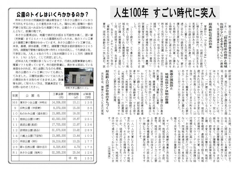 議員団ニュース766号2面 20年2月①pag