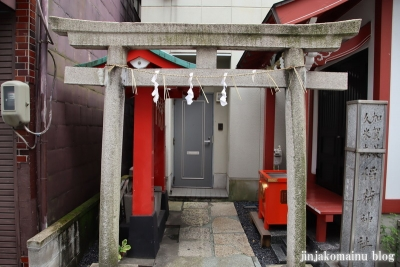 加賀美久米森稲荷神社(台東区浅草橋)3