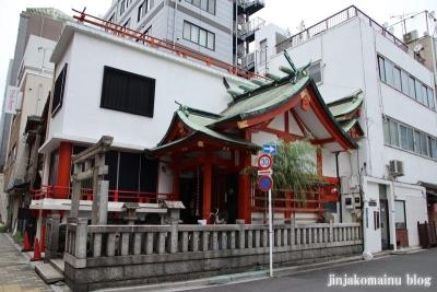 篠塚稲荷神社(台東区柳橋)1
