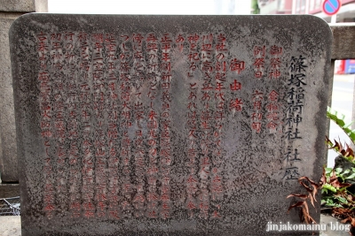 篠塚稲荷神社(台東区柳橋)7