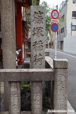 篠塚稲荷神社(台東区柳橋)3
