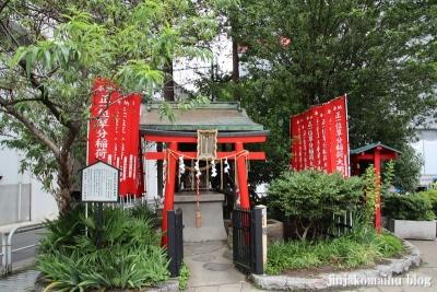 草分稲荷神社(千代田区神田佐久間町)1
