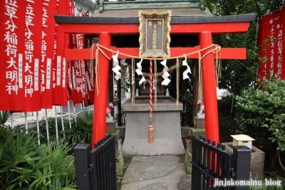 草分稲荷神社(千代田区神田佐久間町)3